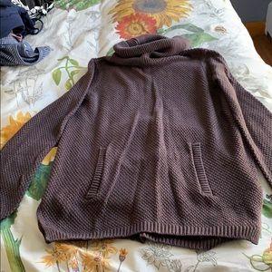EUC Lou & Grey cowl neck sweater with pocket